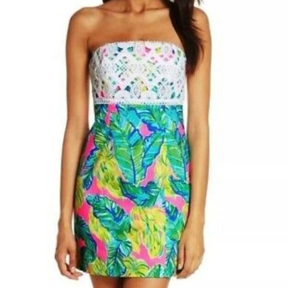 30598a9bf7976c Lilly Pulitzer Dresses & Skirts - Lilly Pulitzer Brynn Dress in Pink Sunset